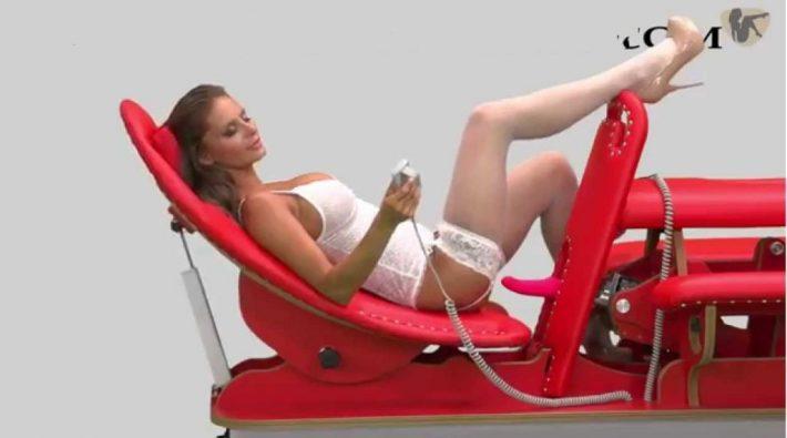 Bondage Forced Orgasm Chair