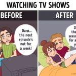 Gledanje TV oddaj