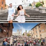 Španske stopnice v Rimu, Italija