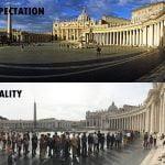 Trg svetega Petra pri baziliki v Vatikanu