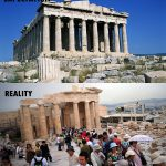 Akropola v Atenah, Grčija