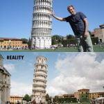Stolp v Pisi, Italija