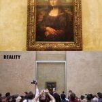 Mona Lisa, Louvre v Parizu