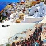 Otoki Santorini, Grčija