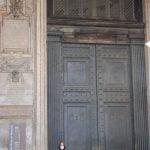 Najstarejša vrata v Rimu, ki so še vedno v uporabi.