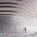 To je knjižnica Tianjin Binhai.