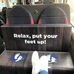 Odmorite svoje noge.
