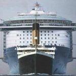 Titanik v primerjavi z moderno križarko