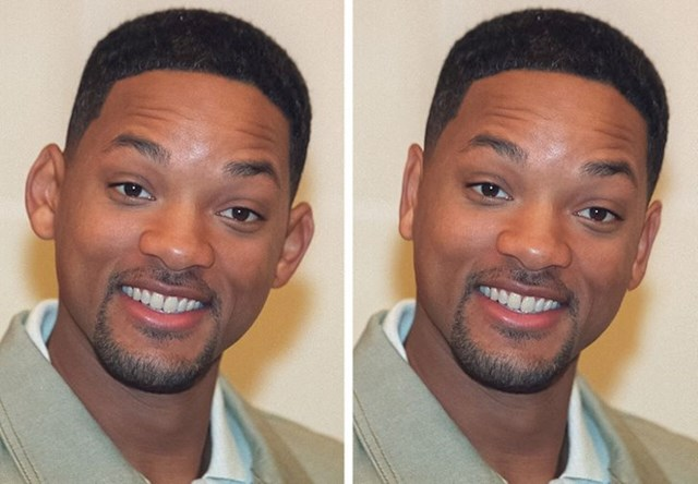 Will Smith in njegova ušesa