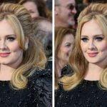 Adele in njena luknjica na bradi