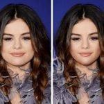 Selena Gomez in njen buckast obraz